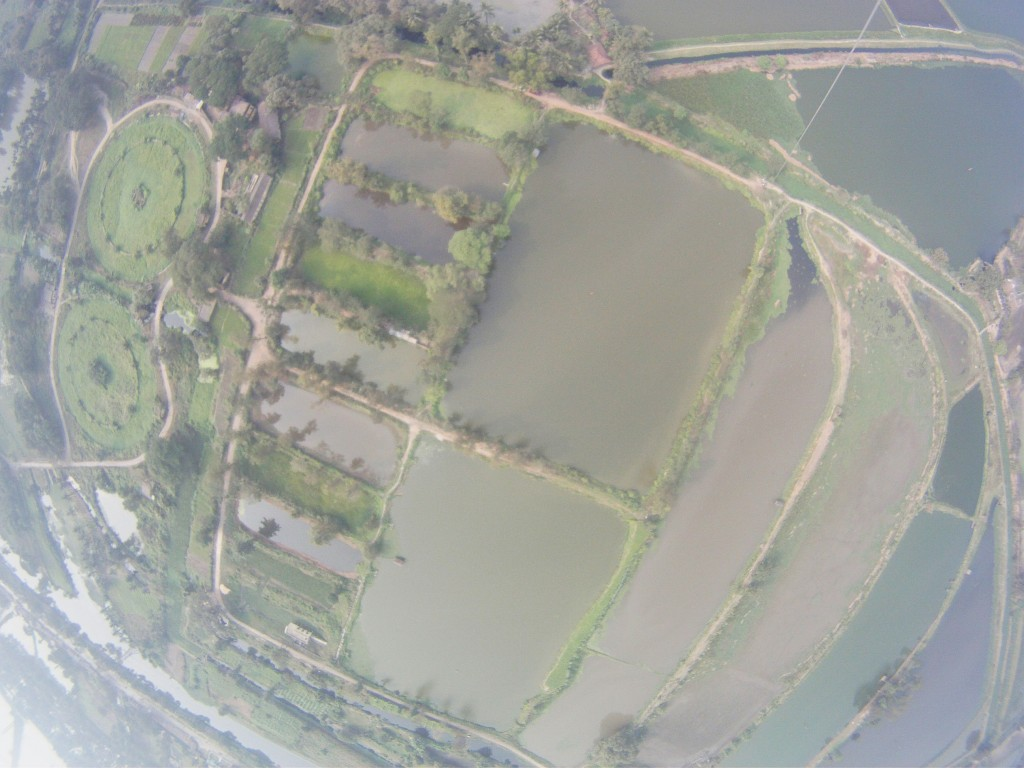 Aerial Photo of EKW from Bantala. Taken from a tethered balloon.